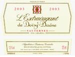 2003 L'Extravagant de Doisy-Daëne Sauternes